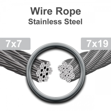 Stainless Steel Rope Wick