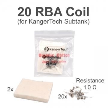 RBA Coil KangerTech Subtank