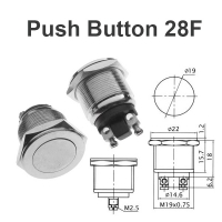 Push Button Switch 28F