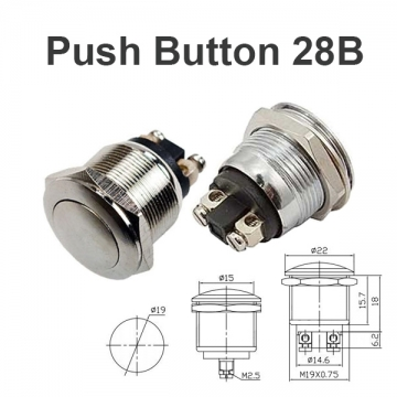 Push Button Switch 28B