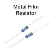 Resistor metal film