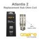 Atlantis 2 sub-ohm coil