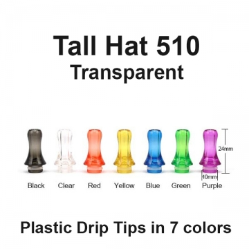 Drip Tip Tall Hat