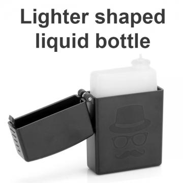 Lighter shaped liquid bottle