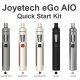 Joyetech eGo AIO 1500mAh Quick Start Kit