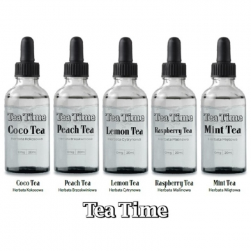 Premixed Liquid Tea Time 20/30ml