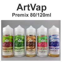 Premixed Liquid ArtVap 80/120ml