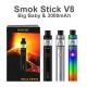 SMOK Stick V8  Big Baby 3000mAh Kit