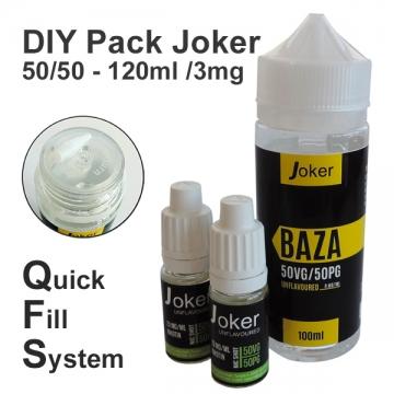 DIY Pack Joker 50/50 - 120ml /3mg