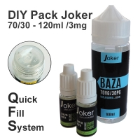DIY Pack Joker 70/30 - 120ml /3mg