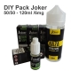 DIY Pack Joker 50/50 - 120ml /6mg