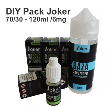 DIY Pack Joker 70/30 - 120ml /6mg