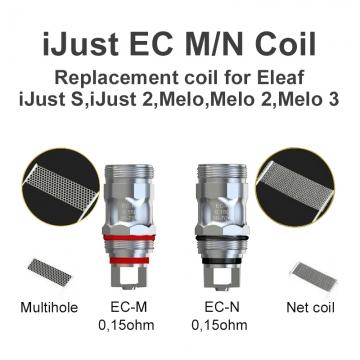 Eleaf iJust 2 coil EC Multi-hole / Net