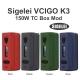 Sigelei Vcigo K3 150W Box Mod