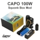 iJoy CAPO 100W Squonk Box Mod + 20700 Battery 3000mAh