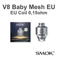 Smok V8 Baby Mesh TPD EU coil 0,15Ohm
