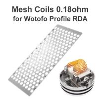 10 x Mesh Coil 0,18Ohm Wotofo Profile