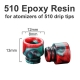 Drip Tip Epoxy Resin 510