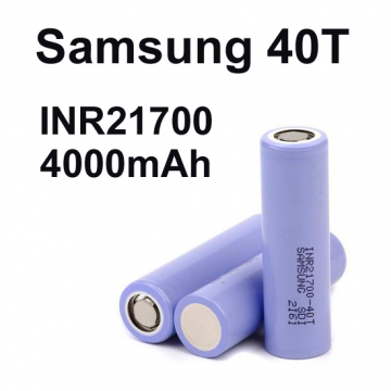 Samsung 21700 40T 4000mAh