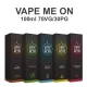 Premixed Liquid Vape MeOn 80/100ml