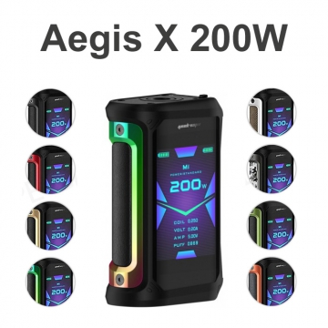 Aegis X 200W TC Mod