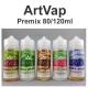 Premixed Liquid ArtVap 80/120ml