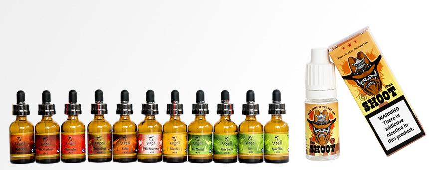 TPD compliant liquids! Premixed liquids intended for nicotine shots!
